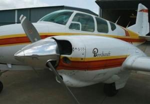 Hartzell Top Prop for a Beech Travel Air. Propeller PartsMarket, Inc. 772-464-0088