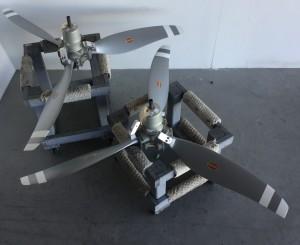 Baron 55 3-blade Scimitar props