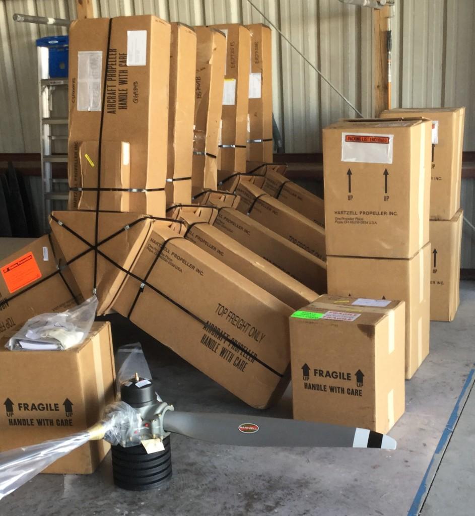 Hartzell STC kits in stock. Propeller PartsMarket, Inc. 772-464-0088