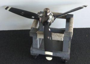 Overhauled Propeller for Seneca 3, 4 Counter rotation in stock. Propeller PartsMarket, Inc.